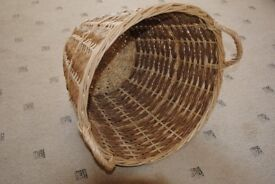 Reed Log Basket