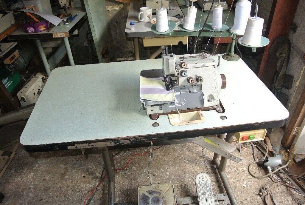 Brother Industrial 4040 Thread Overlocking Sewing Machine In Impressive 5 Thread Overlock Industrial Sewing Machine
