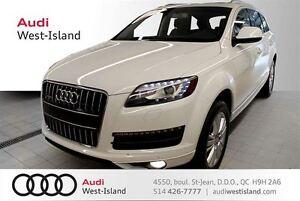 2013 Audi Q7 TDI quattro TOIT PANO / 7 PASS