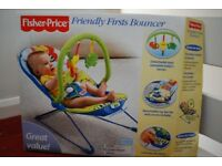 Fisher Price Friendly Firsts Bouncer