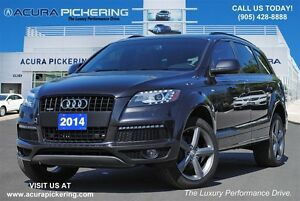 2014 Audi Q7 3.0T Sport|Panoramic Sunroof