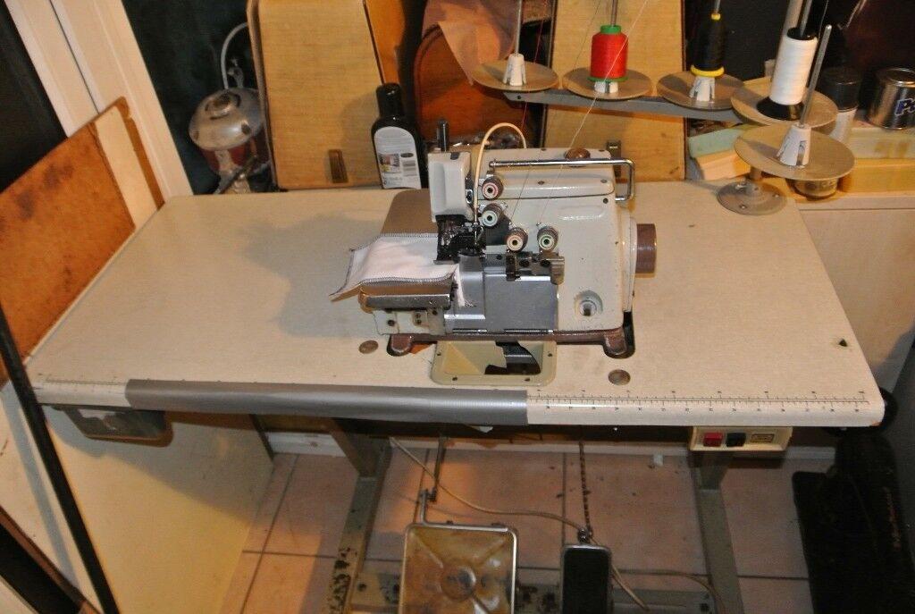 Brother Industrial Overlocking Sewing Machine 400400400 Thread Model MA40 Adorable Brother Industrial Overlock Sewing Machine