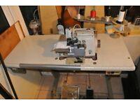 Brother industrial overlocking sewing machine 2/3/5 thread Model MA4-B551-069-5