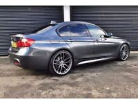 2012 BMW 320D M SPORT F30 M PERFORMANCE KIT *RED LEATHER* NOT 325D 330D C220 AMG AUDI A4 A5 A6 GOLF