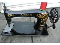Singer Leather/Shoes Industrial Sewing Machine, Oscillating shuttle,wheel feed,for leather