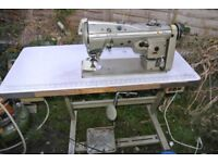 Singer 457 E 125 Freehand Embroidery Zig Zag Industrial sewing Machine
