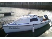 17 Foot 2 Berth Boat. Great Condition