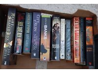 11 x Fiction Books. Various. Some supernatural twists.