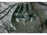 Diesel leather bag