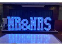 Led dancefloor&party hire