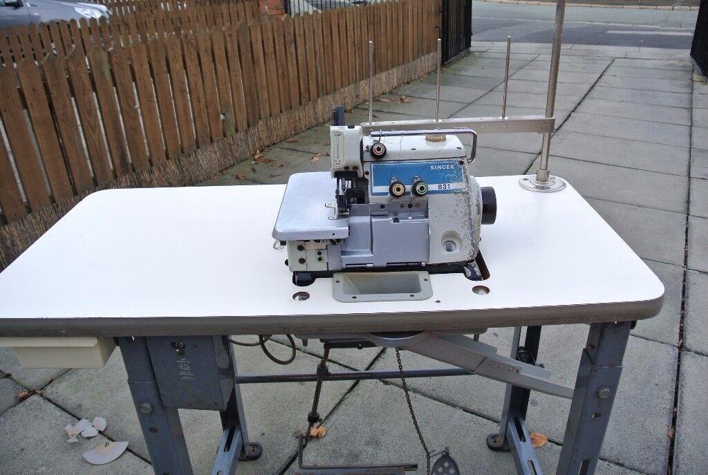 Singer Industrial OVERLOCKING sewing machine Model 831U