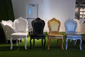 Chaise Baroque modèle de plancher  - Liquidation produit en stock