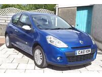 2010 Renault Clio i-Music 1.2, One Owner, New MOT, Service, and Brakes- Music Connectivity, Aircon.
