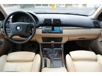 LHD LEFT HAND DRIVE BMW X5 HIGH EXECUTIVE 4x4 AUTOMATIC CREME LEATHER SEATS FULLY LOADED