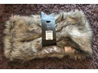 BNWT Fur Snood