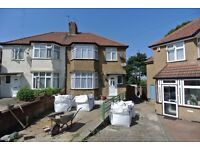 Newly refurbished 3-4 bedroom semi-detached family home in lovely area of Colindale, NW London.