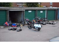 Garage Clear Out !! Many Used Motorcycle / Scooter Parts Available