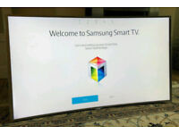 55in Samsung Curved SUHD 4K Nano Crystal 3D Smart LED TV Wi-Fi Freeview HD & FreeSat HD [NO STAND]