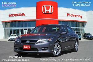 2013 Honda Accord Touring   LEATHER   NAVIGATION   REAR & SIDE