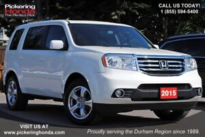 2015 Honda Pilot EX-L LEATHER DVD SUNROOF