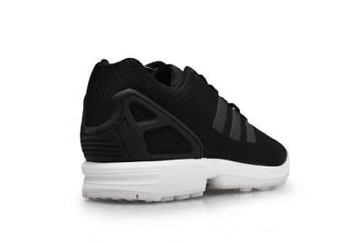 Détails sur Femmes Adidas Zx Flux W AQ3231 Baskets Noires Blanches