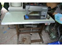 Singer INDUSTRIAL Lockstitch Flatbed Sewing machine for Alteration shops, Home use, factory, Schools