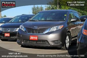 2016 Toyota Sienna LE | BLUETOOTH | HEATED SEATS | BACK UP CAMER