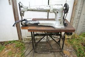Long-Cylinder-Arm-Singer-133K7-Industrial-WALKING-FOOT-Machine FOR LARGE SEWING PIECES
