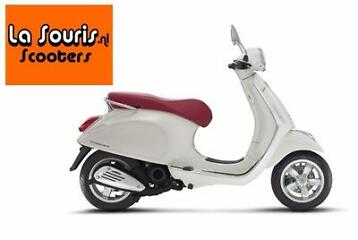 Sale! Vespa Primavera Wit | €3125,- of lease €1,80 per dag