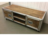 Industrial Style TV Unit, New & Boxed