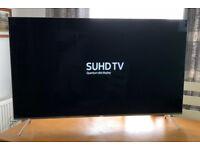 55in Samsung 4K SUHD HDR Quantum Dot Smart LED TV Wi-Fi Freeview HD & FreeSat HD