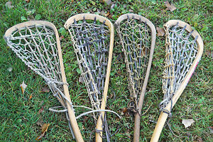 Wanted! Wooden lacrosse sticks - Any quantity & any condition!