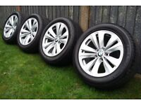 """BMW 7 series wheels and premium tyres with 6mm+ tread 18"""" 245 50 18 245/50r18 5x120 Style 234"""