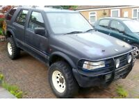 Vauxhall Frontera 4x4 - 2.5 Turbo Diesel - Road Legal Off-Roader - MOT Dec 2016 - Ready to use