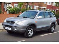 LHD LEFT HAND DRIVE HYUNDAI SANTA FE 2002 4x4 AUTOMATIC AIRCO CRUISE CONTROL CLEAN CAR