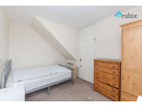 Large split level 4 bedroom flat with no lounge in SE1 available from late August.