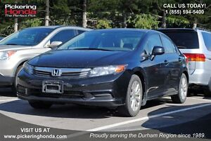 2012 Honda Civic EX | SUNROOF | BLUETOOTH | PROTECTION PACKAGE