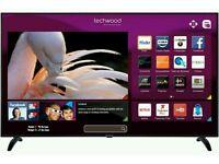 "Techwood 65"" smart wifi tv Hd freeview fullhd 1080p"