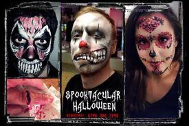 Face Painters/Make up Artists Halloween-London