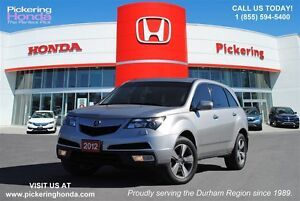 2012 Acura MDX Technology Package SH-AWD