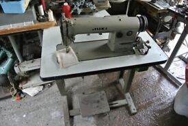 Juki Industrial lockstitch sewing machine Model DDL-555 Single Phase,