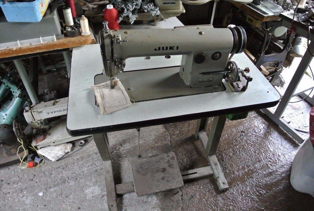 JUKI INDUSTRIAL Sewing machine DDL-555