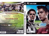 Pro Evolution soccer/Pes 2008 on pc for £3