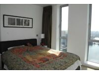 GREAT ONE BEDROOM FLAT IN EAST TOWER- PAN PENINSULA- SOUTH QUAY- E14