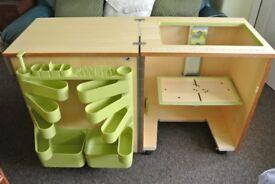Horn Sewing Machine storage Cabinet