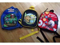 3 Toddler Backpacks