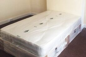 *14-DAY MONEY BACK GUARANTEE!* Double or Small Double Bed with Full Orthopaedic Mattress - SAME DAY!