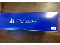 Sony PS4 pro brand new sealed