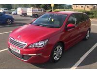 2014 Peugeot 308 1.6 HDI £0 Road Tax 35000 miles