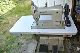 Mitsubhishi Industrial Walking Foot Sewing Machine with reverse Model DY-253*** LARGE BOBBIN**